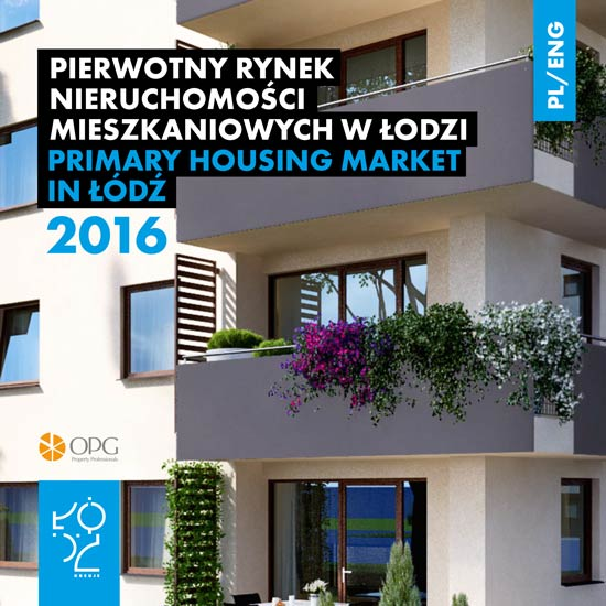 Primary housing market in Lodz 2016