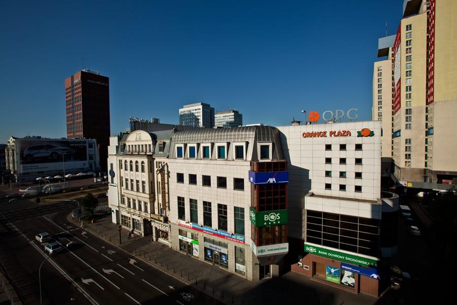 Orange Plaza, powierzchnia usługowa