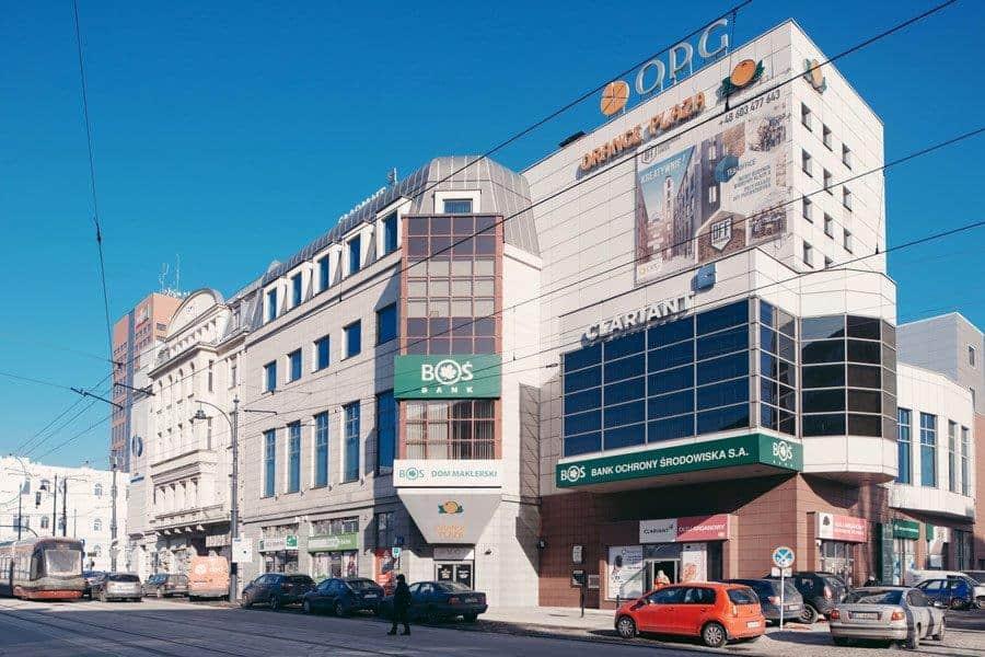Biurowiec ORANGE PLAZA FINANCIAL CENTER
